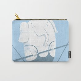 Elephants Balancing Act Carry-All Pouch
