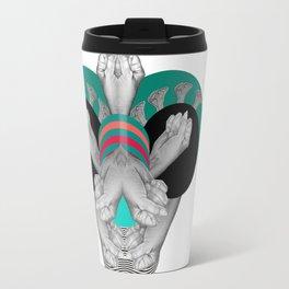 Hand bug Travel Mug