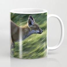 Fox cub on the Run Mug