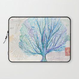 Watercolor Seafan Laptop Sleeve