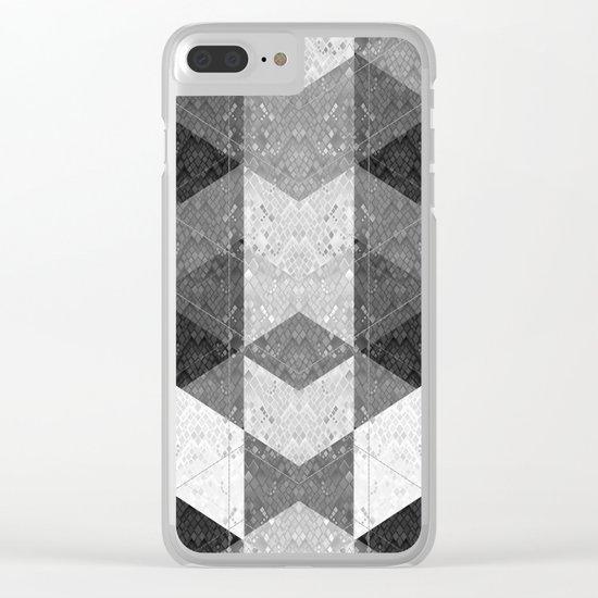 Reptile skin 1 Clear iPhone Case