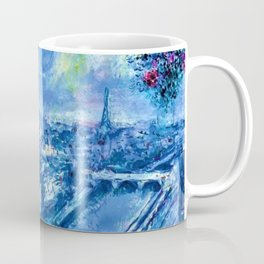 View of Paris by Marc Chagall Coffee Mug