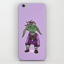 Cozy Goblin iPhone Skin