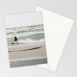 Kite surf France Stationery Cards