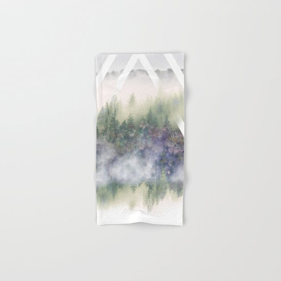 Foggy Mountains Hand & Bath Towel