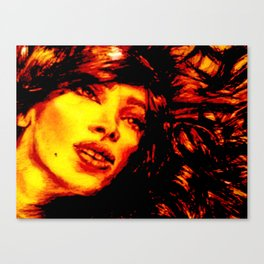 Lady in Transition Canvas Print