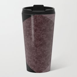 Black and brown marble Travel Mug