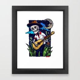 Guitarras de Amor Framed Art Print