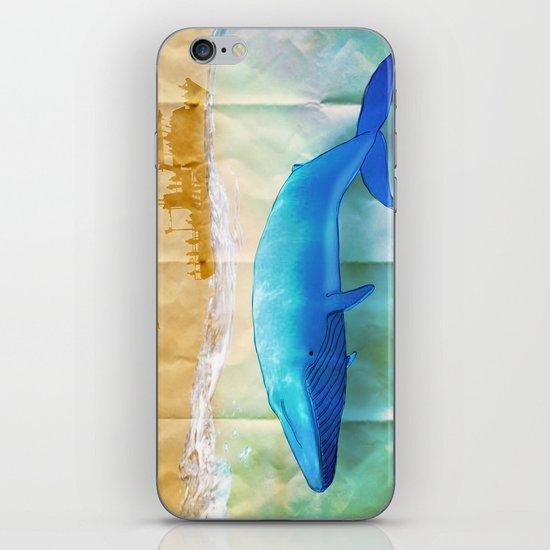 the beauty beneath _ humpback whale iPhone & iPod Skin