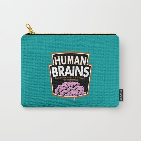 Human Brains Carry-All Pouch