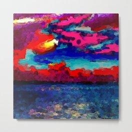 Magenta, pink, red, blue Metal Print