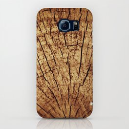Burnt sun tree iPhone Case