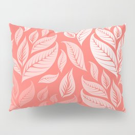 LIVING CORAL LEAVES 2 Pillow Sham