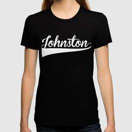 JOHNSTON Baseball Vintage Retro Font T-shirt