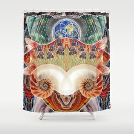 Totem of Redemption Shower Curtain
