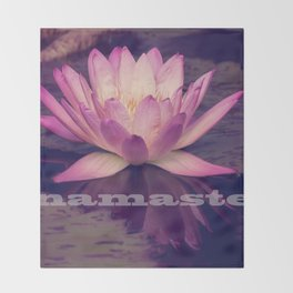 Namaste Throw Blanket