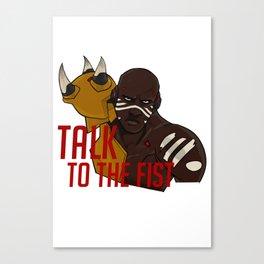 Team Talon Doomfist Canvas Print