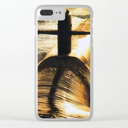 USS MARYLAND (SSBN-738) Clear iPhone Case