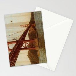 Dad's Golden Gate Bridge, Circa 1977: San Francisco, California - Distressed Photo on Wood Stationery Cards