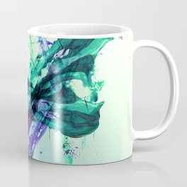 Vaporwave Style Abstraction Coffee Mug
