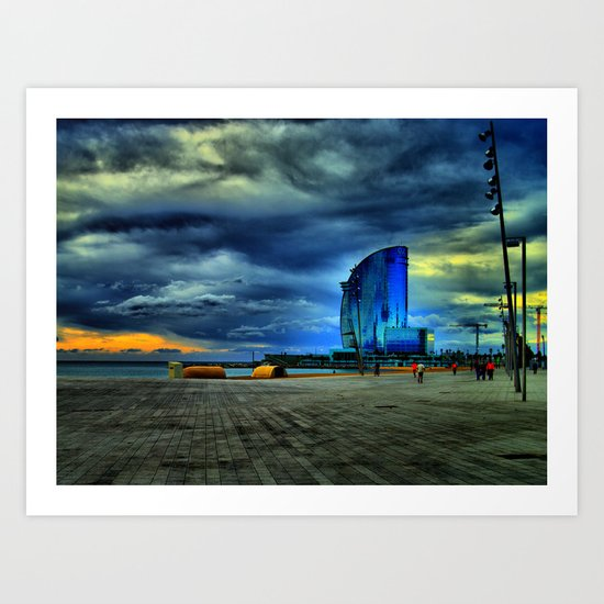 From the Mars Hotel Art Print