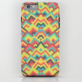 Chevron Colorful Pattern iPhone Case