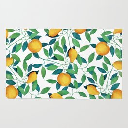 Lemon pattern II Rug