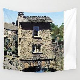 Old Bridge House Ambleside Cumbria England Wall Tapestry