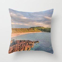 Whistling Sands at Dusk Throw Pillow