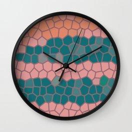 winter of wind Wall Clock