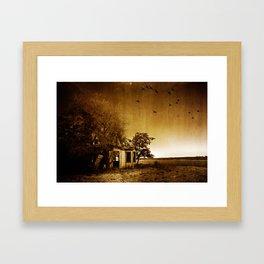 Abandoned Home  Framed Art Print