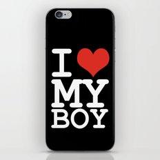 I love my boy iPhone & iPod Skin