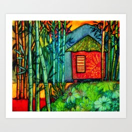 Off The Beaten Path Art Print