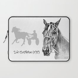 Sir Castleton (NZ) - Standardbred Laptop Sleeve