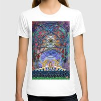 shiva T-shirts featuring Space Shiva by BradButler