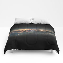 Milky Way Panoramic Comforters