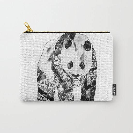 Tattooed Panda Carry-All Pouch