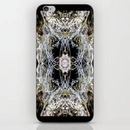 Web cave iPhone Skin