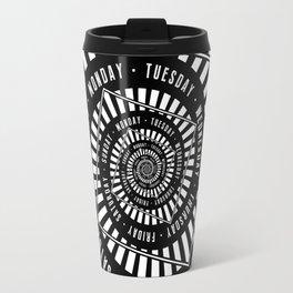 Days of The Week Travel Mug