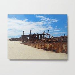 SS MAHENO Metal Print