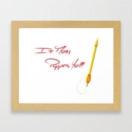 I'm Marry Poppins Y'all Framed Art Print