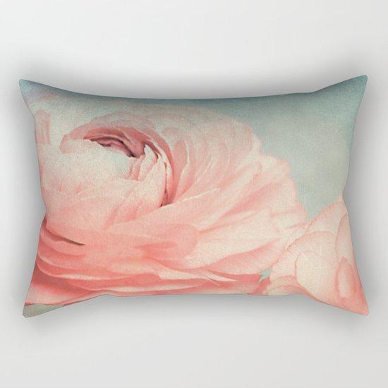Vintage Ranunculus (5) Rectangular Pillow
