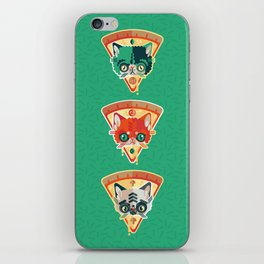 Pizza Slice Cats  iPhone Skin