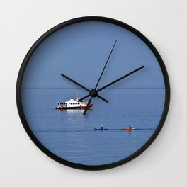 Fun on the Water Wall Clock