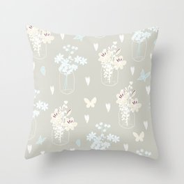 Spring collection Throw Pillow