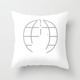 Catonymous 2 Throw Pillow