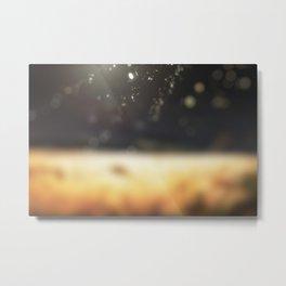 Extinguished fire art Metal Print
