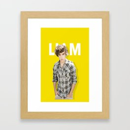 One Direction - Liam Payne Framed Art Print