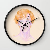 ginger Wall Clocks featuring Ginger by br0-harry