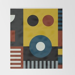 SPEECH AT THE BAUHAUS Throw Blanket